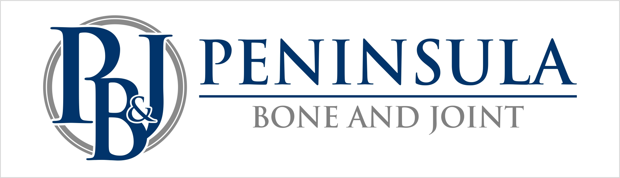 Peninsula Bone & Joint Clinic | Burlingame CA Logo